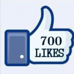 700 likes